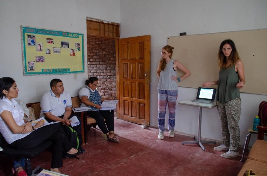 NPH Honduras - Testimonio voluntario - Logopedia